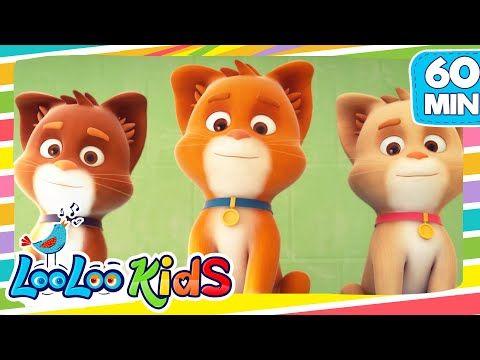 Three Little Kittens Loolookids Nursery Rhymes And Kids Songs Youtube Kids Nursery Rhymes Kids Songs Kids Video Songs