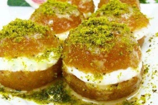 Kemalpaşa Tatlısı, Postre relleno de queso natural,Turquía