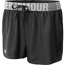 under armour running shorts.. I live in these in the summer b/c they are comfy and light.. #colorsofsummer