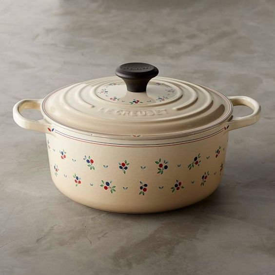 Le Creuset Signature Cast-Iron Petite Fruit Dutch Oven, 4 1/2-Qt.