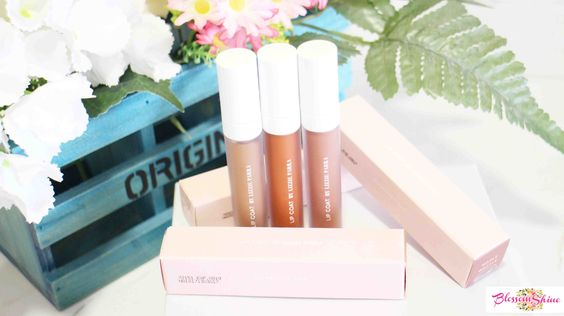 New Lip Coat BLP Beauty (L-R): Ginger Bread, Pumpkin Sorbet & Maple Waffle