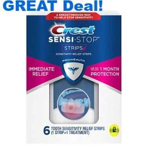 Crest Sensi Strips only $0.99 at CVS - http://www.savingwellspendingless.com/2016/02/04/crest-sensi-strips-only-0-99-at-cvs/?Pinterest