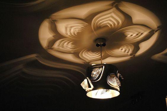 Moderne+Lampe+Einzigartiges+Design++LEAVES+von++Archerlamps++auf+DaWanda.com