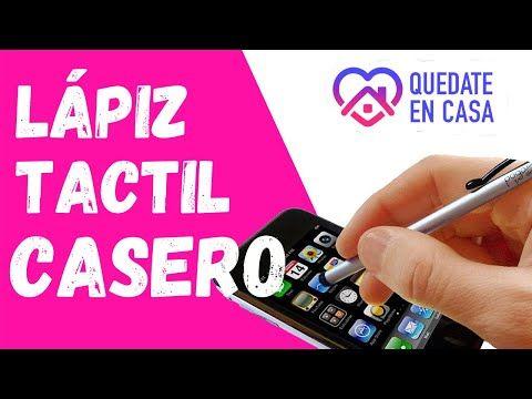 Como Hacer Lapiz Tactil Casero Para Celular Para Android Stylus Crea Lapiz Tactil Casero Celular Youtube Lapiz Trucos Para Android Cómo Hacer