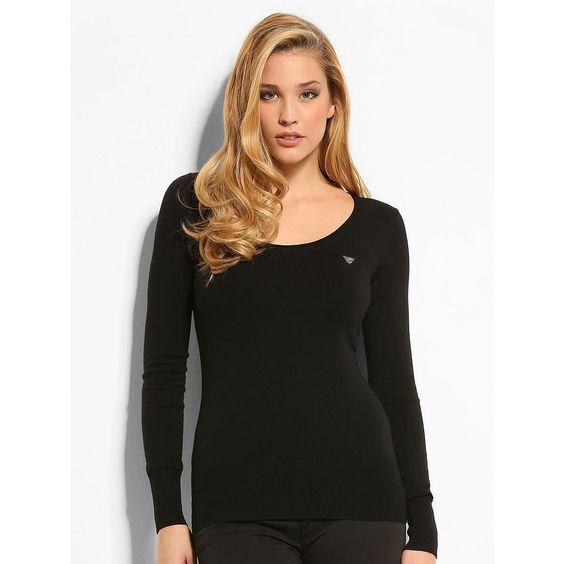 Pullover Routh    Dieser Slim-Fit-Pullover mit rundem Ausschnitt ist das ideale Basic für eine ansprechende leichte Optik mit Tragekomfort. Der Viskosemix hüllt dich in eine schützend weiche und warme Umarmung.    Dreieck aus Strass vorn.  82% Viskose 15% Polyamid 3% Elastan.  Handwäsche....