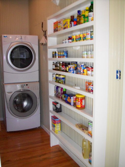 Shelves Pantry And Laundry Rooms On Pinterest