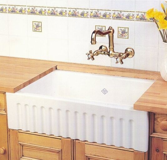Rohl Farmhouse Sink Rohl Rc3223 Shaws Original Fireclay Fluted