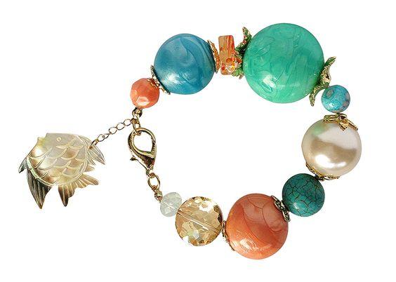 Aquamarine la nueva colección de accesorios y complemento de Ianka by Giancarlo Miranda verano 2014