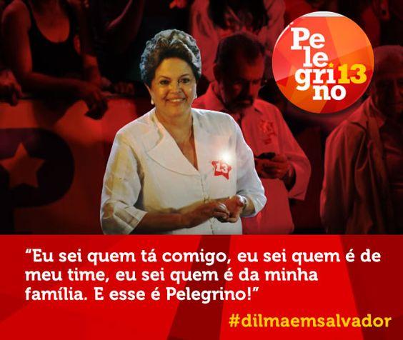 Dilma em Salvador