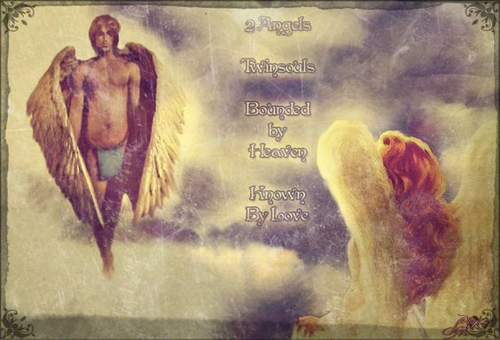 Twinsouls Digital art by Angel-Wings.nl: