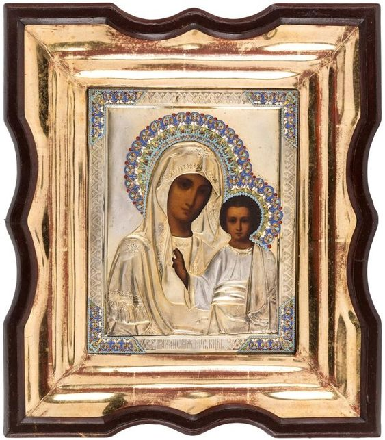 Russian icon of Our Lady of Kazan