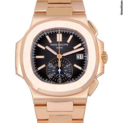 Patek Philippe Rose Gold Men's Nautilus 5980/1R-001