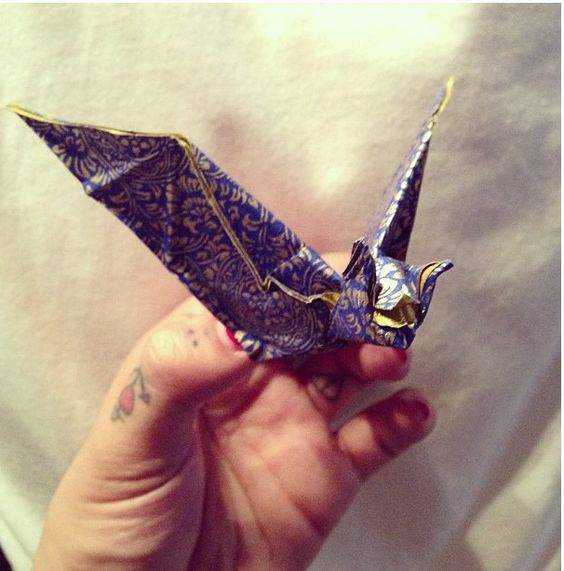 Party favors origami