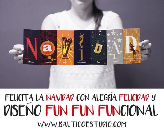 Preparamos tus tarjetas de navidad con diseño funfunfuncional