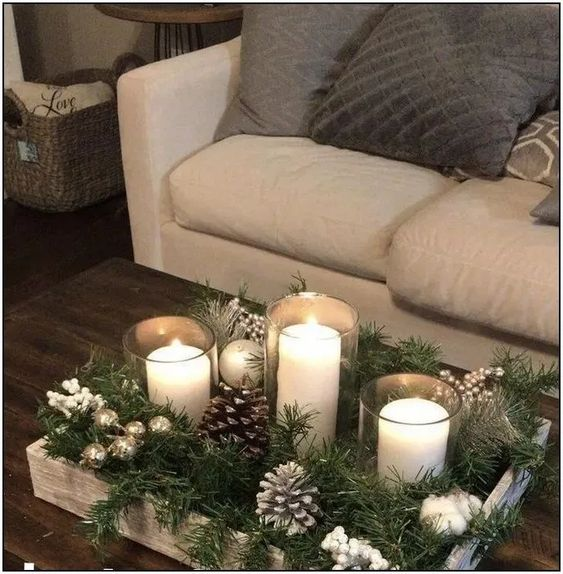 58 elegant christmas table centerpieces to your holiday decor page 18 | Pointsave.net