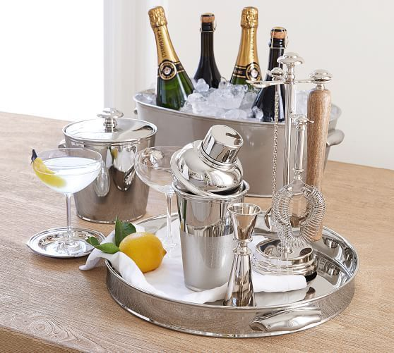 Pin By Carnival Period On Brunch In 2020 Bar Tool Set Home Bar Accessories Wine Bucket