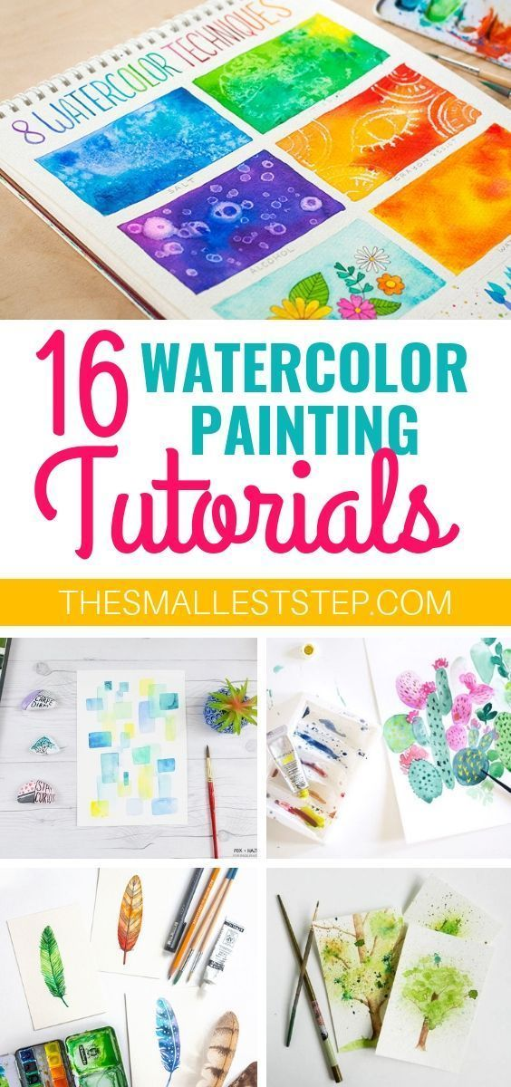 16 Diy Watercolor Painting Tutorials That Are Perfect For