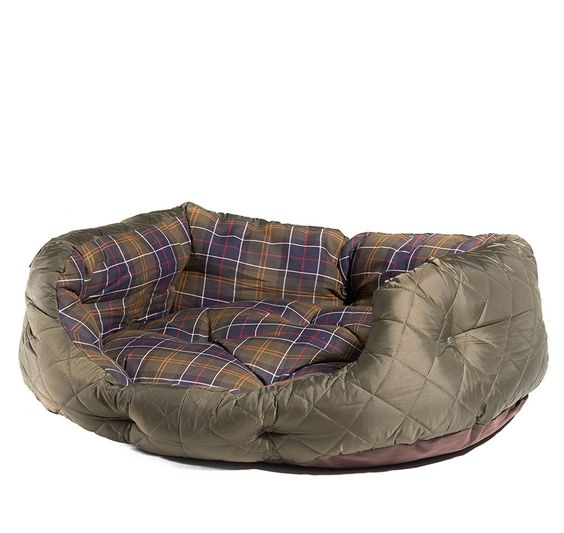 Barbour Hundebett Quilted Dog Bed L