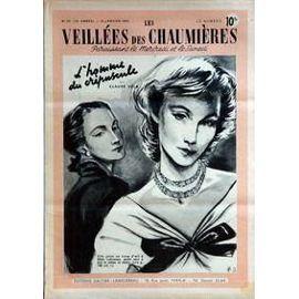 Veillees (Les) N° 23 Du 19/01/1952 - Lectures Romanesques - Tricots- Ouvrages - Enquetes - Cuisine L'homme Du Crepuscule De Claude Vela.
