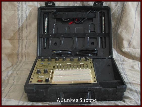 ELENCO Analog And Digital Electronics Student Practice Trainer XK 550 Used  Junk0883   http://ajunkeeshoppe.blogspot.com/