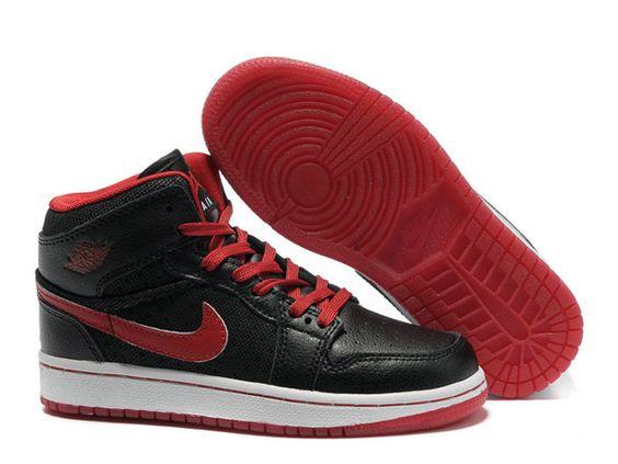 Jordan 1 Phat High Chaussures Fille baskets air jordan Blanc Noir-Nike Air Jordan Enfants Site Officiel France