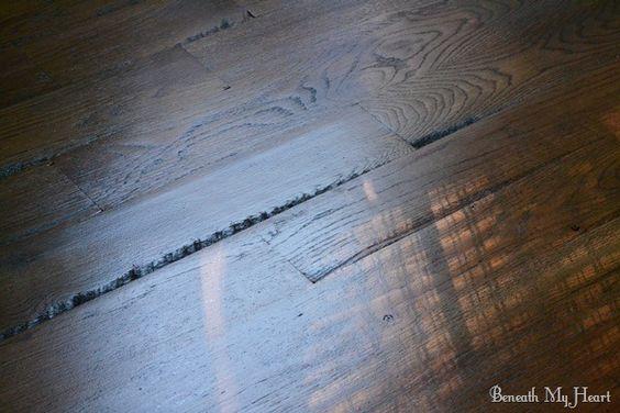 Sheds white oak hardwood flooring and