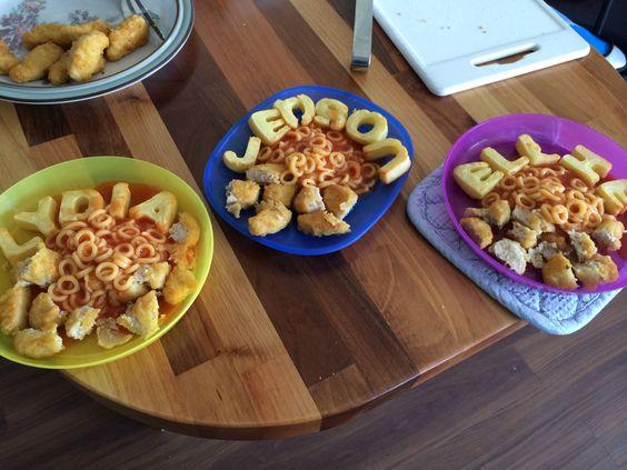 Children's lunches!