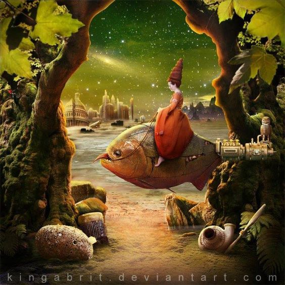 pinturas surrealistas Steampunk Britschgi-14