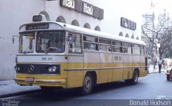 Ônibus da empresa Viação São José, carro 105 121, carroceria Mercedes-Benz Monobloco O-362, chassi Mercedes-Benz O-362. Foto na cidade de São Paulo-SP por Donald Hudson, publicada em 19/08/2014 06:33:26.