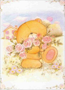 ** encore pleins de belles fleurs pour mon ami, bonne après midi ** - Oso flores rosas