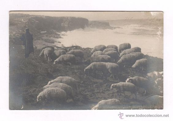 Alrededores de l'Escala, costa brava, 1910's. Foto: J. Esquirol, l'Escala, Girona.