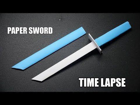 Origami Schwert