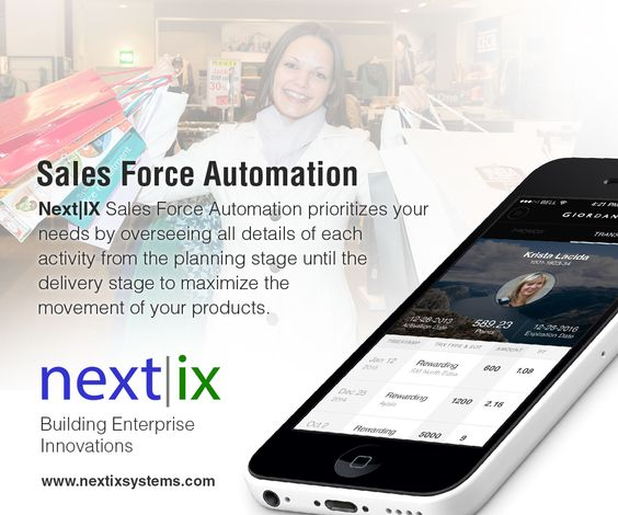 NextIX Sales Force Automation (SFA) system streamlines and enhances the operations of your sales team.
