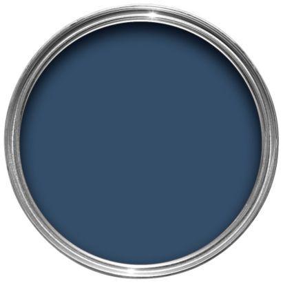 Dulux Weathershield Exterior Oxford Blue Gloss Wood Metal Paint 750ml Dulux Weathershield