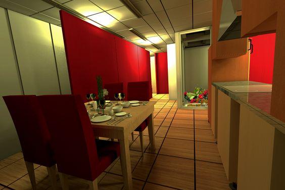 Modular Building Design 2012 - ATOARK Arquitetura | Design de interiores | Maquetes 3D