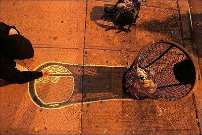 Man made shadows