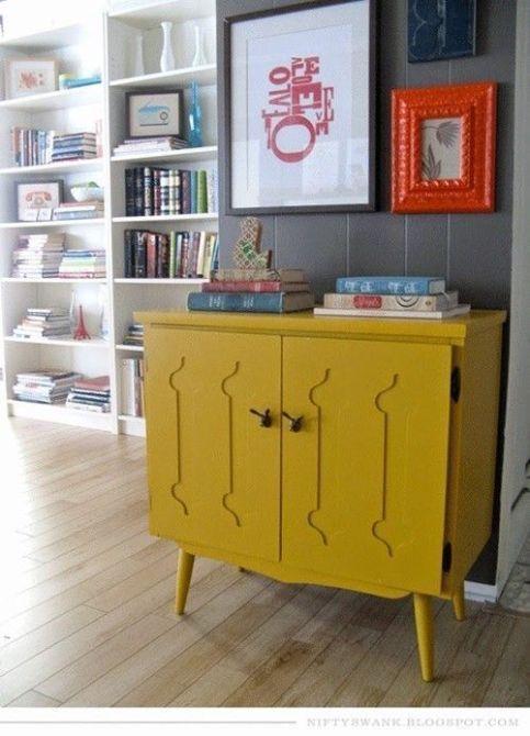 20 Ideas Para Pintar Muebles De Madera Antiguos A Todo Color 3 Pintar Muebles De Madera Ideas De Muebles Pintados Muebles Antiguos Pintados
