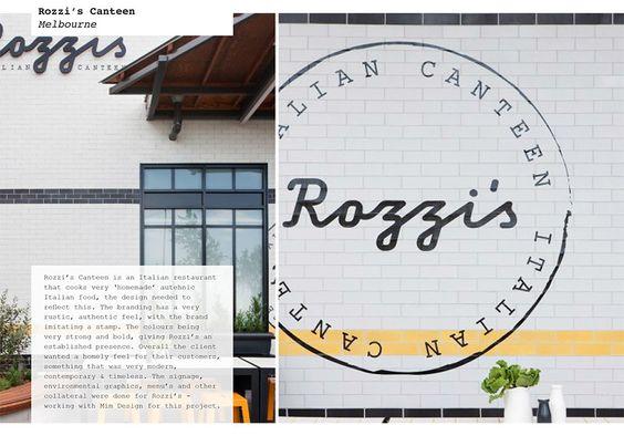 Rozzi's Canteen - sarah hotchin Portfolio - The Loop