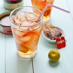 Iced Kalamansi Tea