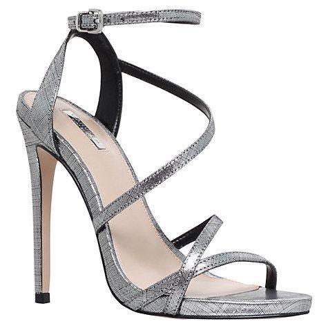 Buy Carvela Georgia Leather Stiletto Strappy Sandals Online at johnlewis.com
