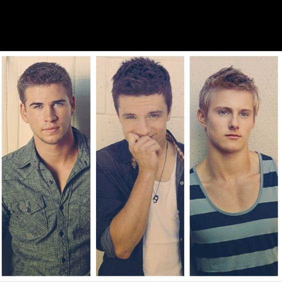 Gale. Peeta. Cato.