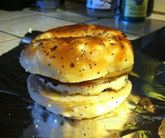 Vegan Breakfast Sandwich high protein