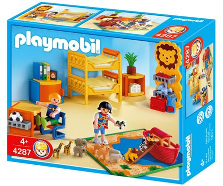 Playmobil children 39 s play room tspm4287 2 for Playmobil kinderzimmer 4287