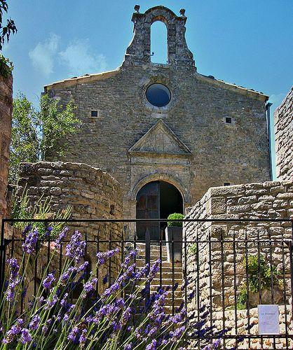 Chapelle à Saignon, Provence, France