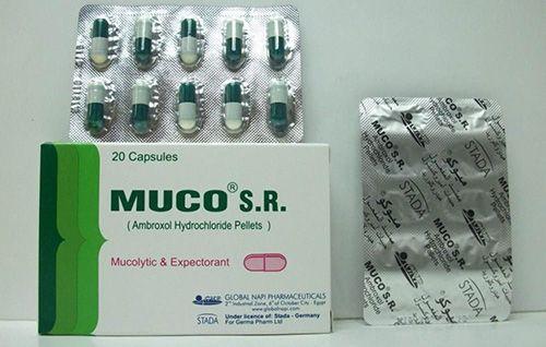 ميوكو اس ار كبسولات لعلاج أمراض الجهاز التنفسي Muco S R Capsules Personal Care Beauty Toothpaste