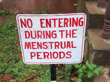 No Entering During the Menstrual Periods