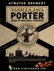 Atwater Brewery's Vanilla Java Porter, one of my new faves