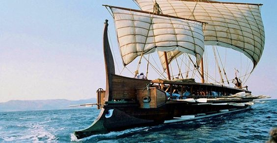 The Ancient Greek Trireme Galley