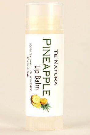 Te Natura Pineapple Lip Balm at LuLus.com!