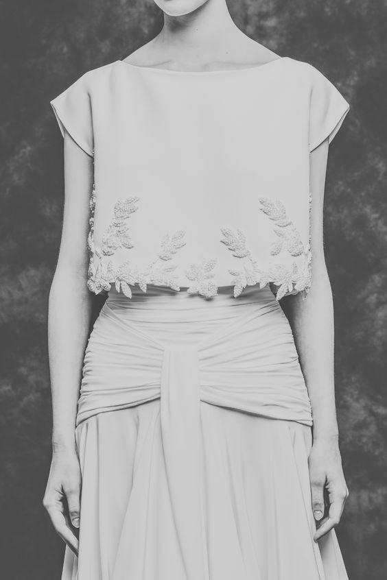 Isabel Nuñez. El nuevo fenómeno de las novias a medida © Elena Bau